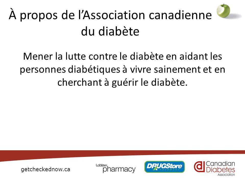 À propos de l'Association canadienne du diabète