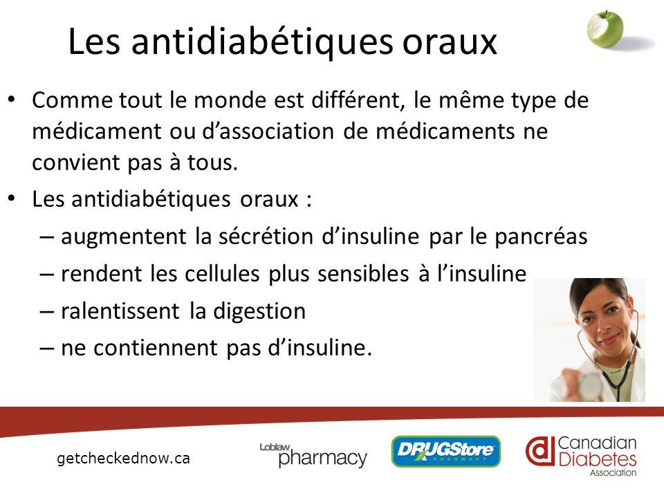 Les antidiabétiques oraux