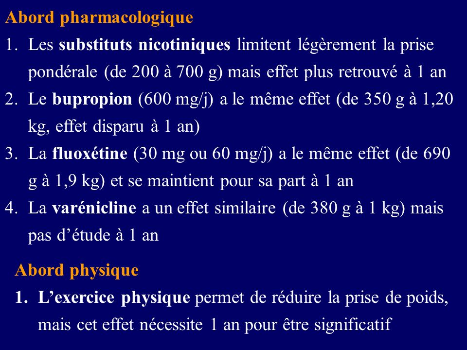 Abord pharmacologique