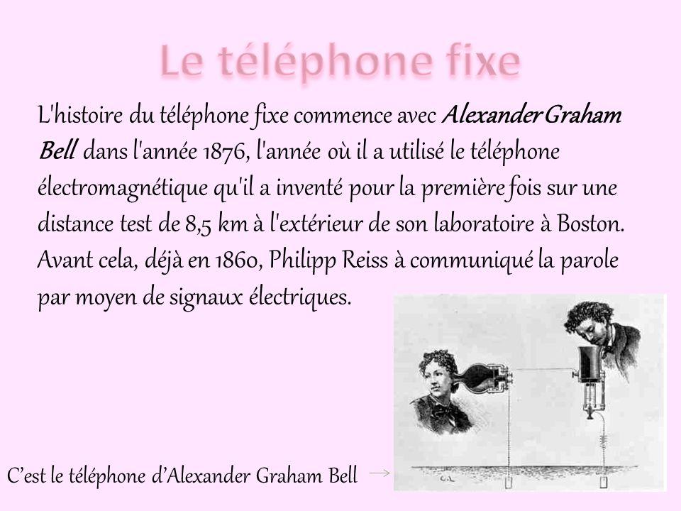Le téléphone fixe