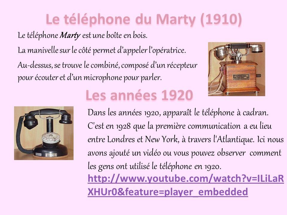Le téléphone du Marty (1910)