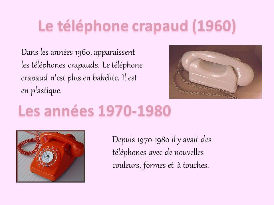 Le téléphone crapaud (1960)