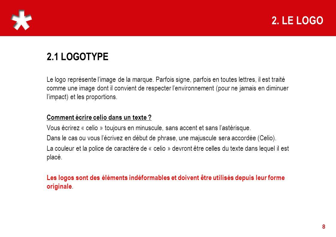 2. LE LOGO 2.1 LOGOTYPE.