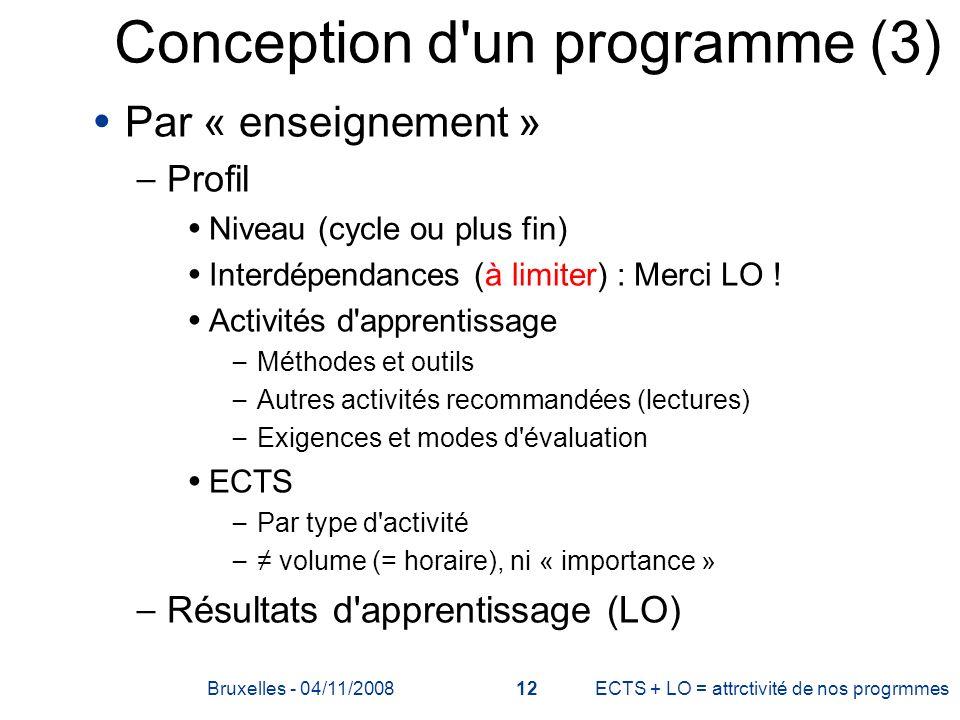 Conception d un programme (3)