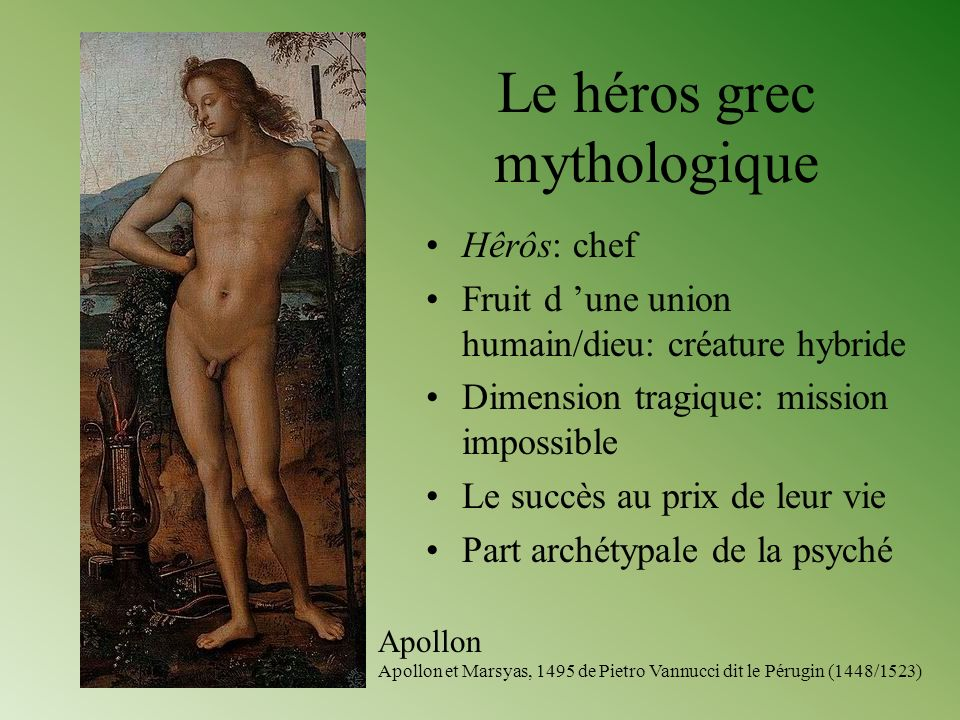 Le héros grec mythologique