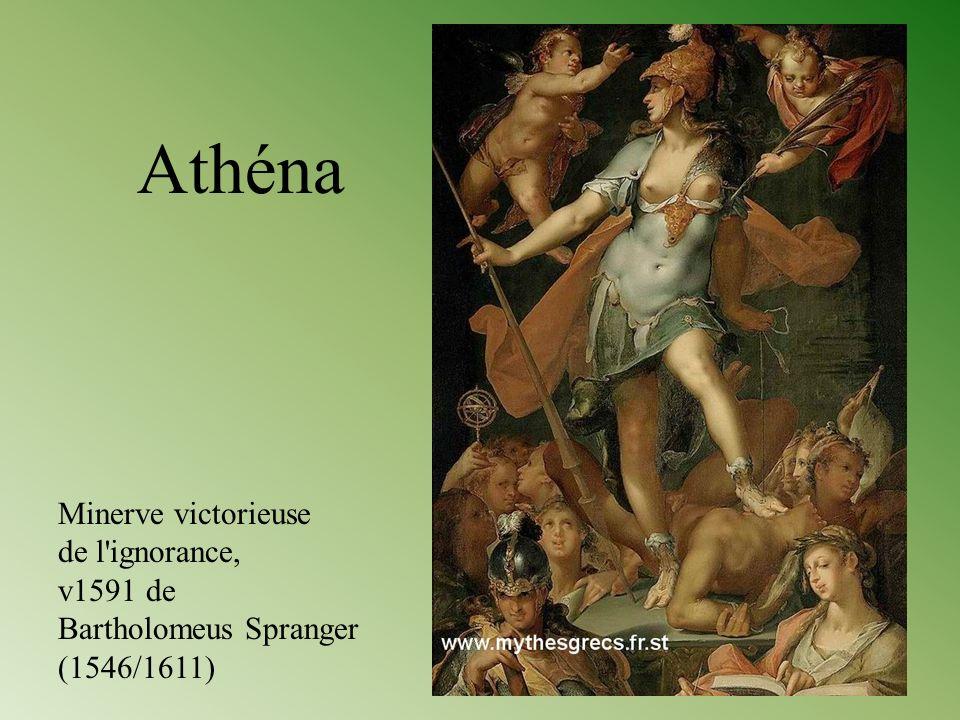 Athéna Minerve victorieuse de l ignorance, v1591 de