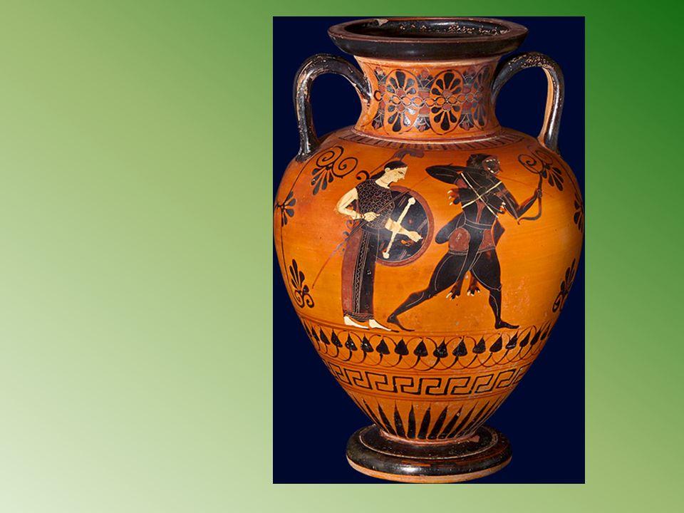 Héraclès à Géryon Voler les bœufs de Géryon et les ramener en Grèce ; Source de cette image: Bnf les héros.