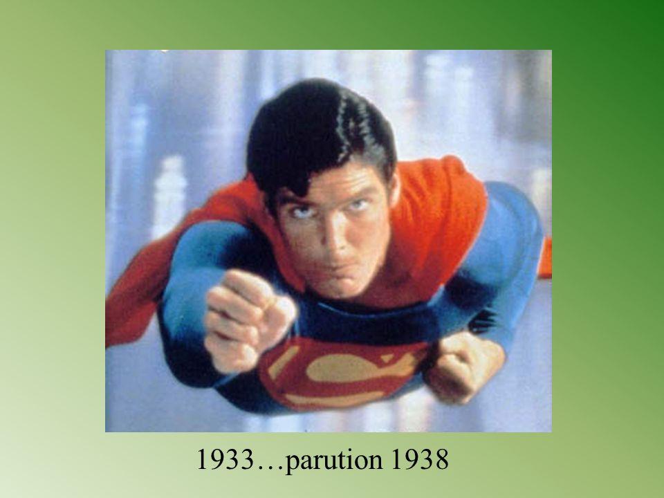 Superman est un personnage de fiction créé par Jerry Siegel et Joe Shuster dans le comic Action Comics de l éditeur DC Comics le 1er juin 1938. Il est doté de pouvoirs surhumains et le premier aux États-Unis d une longue descendance de super-héros.