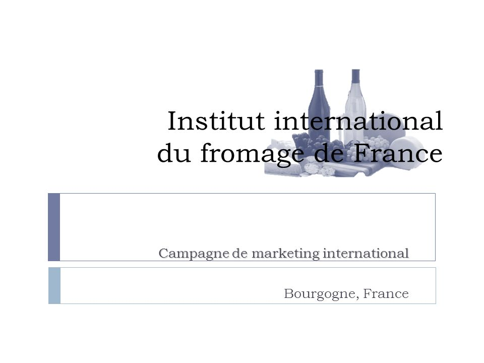 Institut international du fromage de France