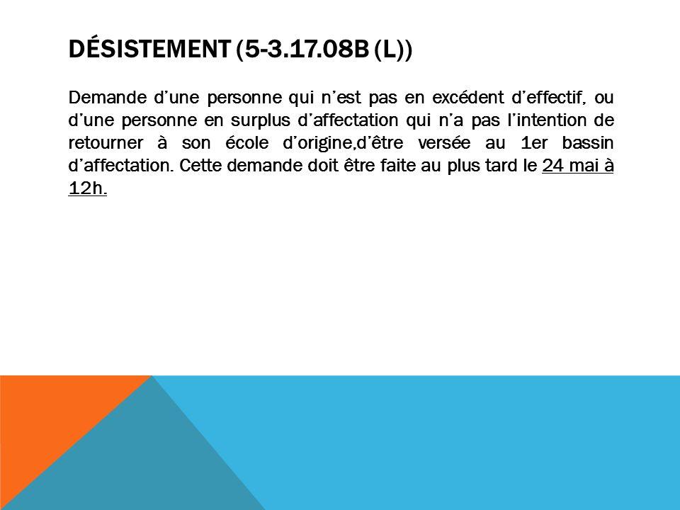 Désistement (5-3.17.08b (L))