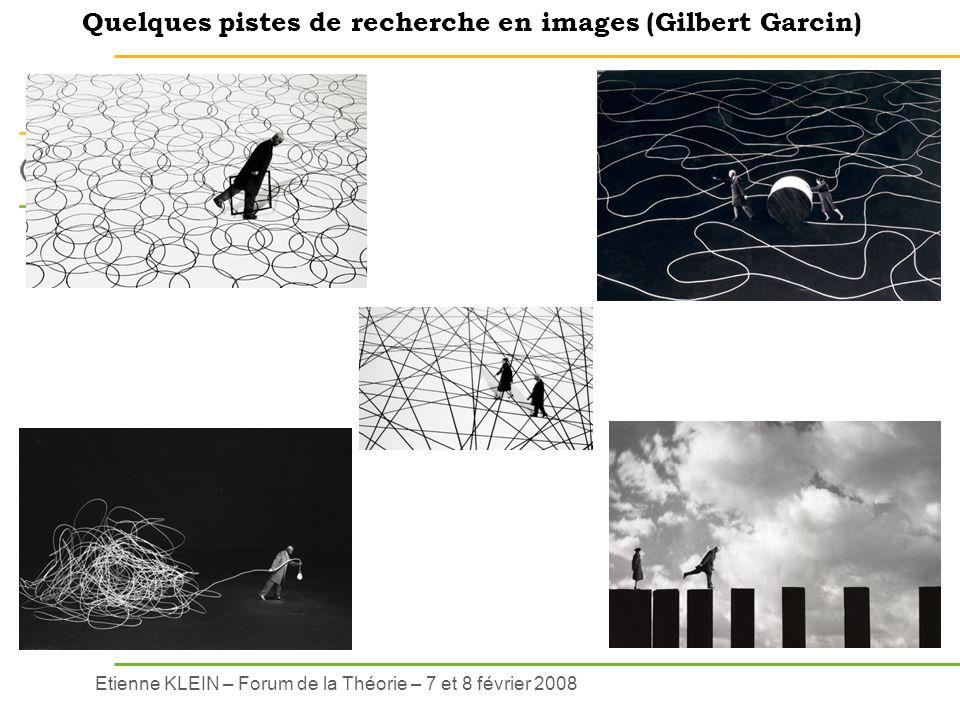 Quelques pistes de recherche en images (Gilbert Garcin)
