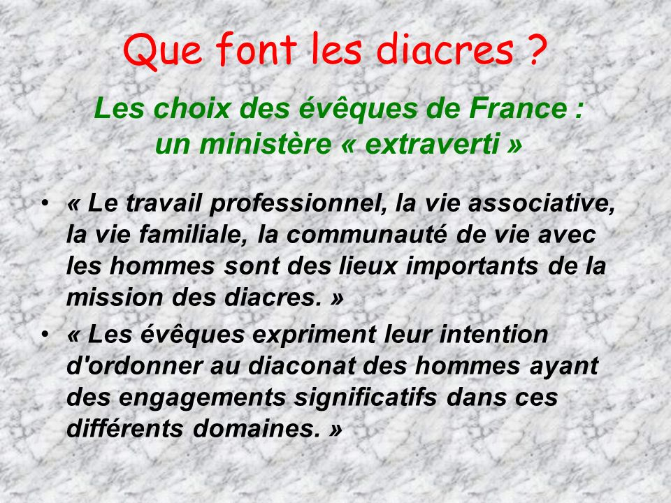 Les choix des évêques de France : un ministère « extraverti »