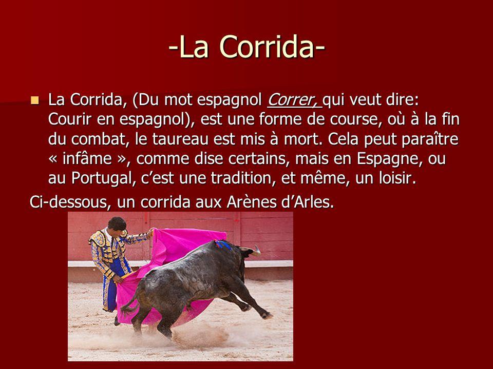-La Corrida-