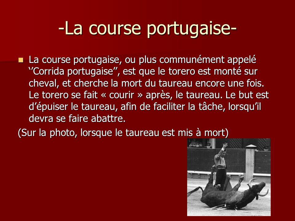 -La course portugaise-