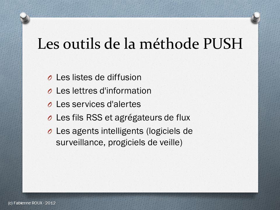 Les outils de la méthode PUSH