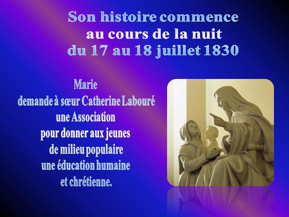 demande à sœur Catherine Labouré