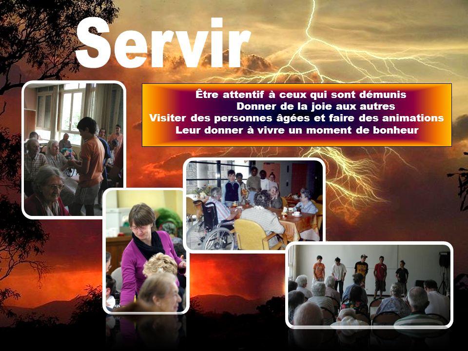 Servir Être attentif à ceux qui sont démunis