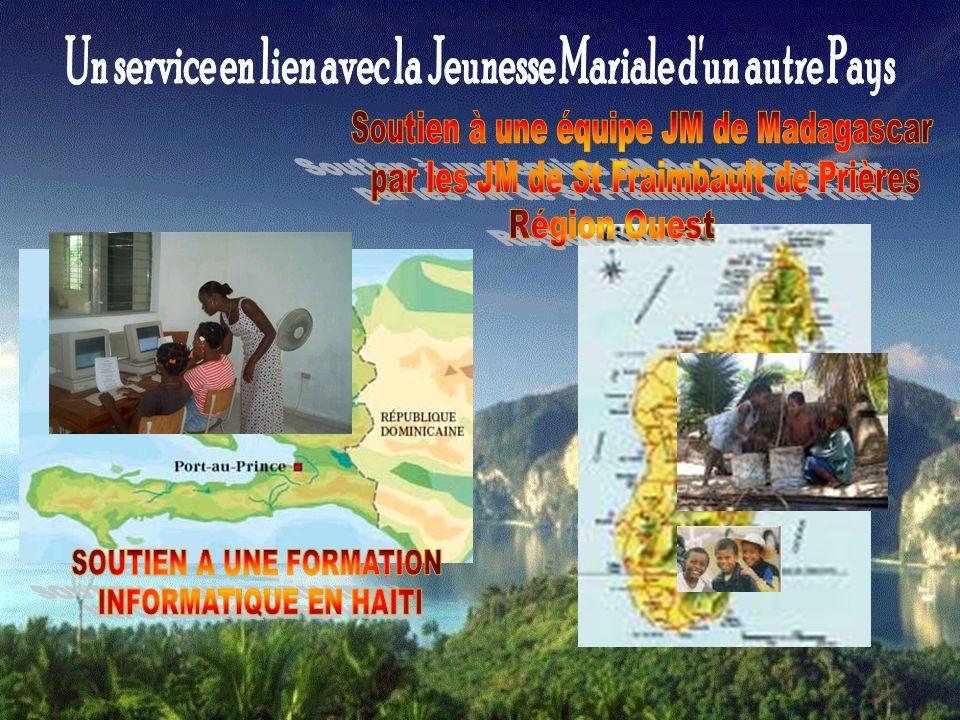 Un service en lien avec la Jeunesse Mariale d un autre Pays