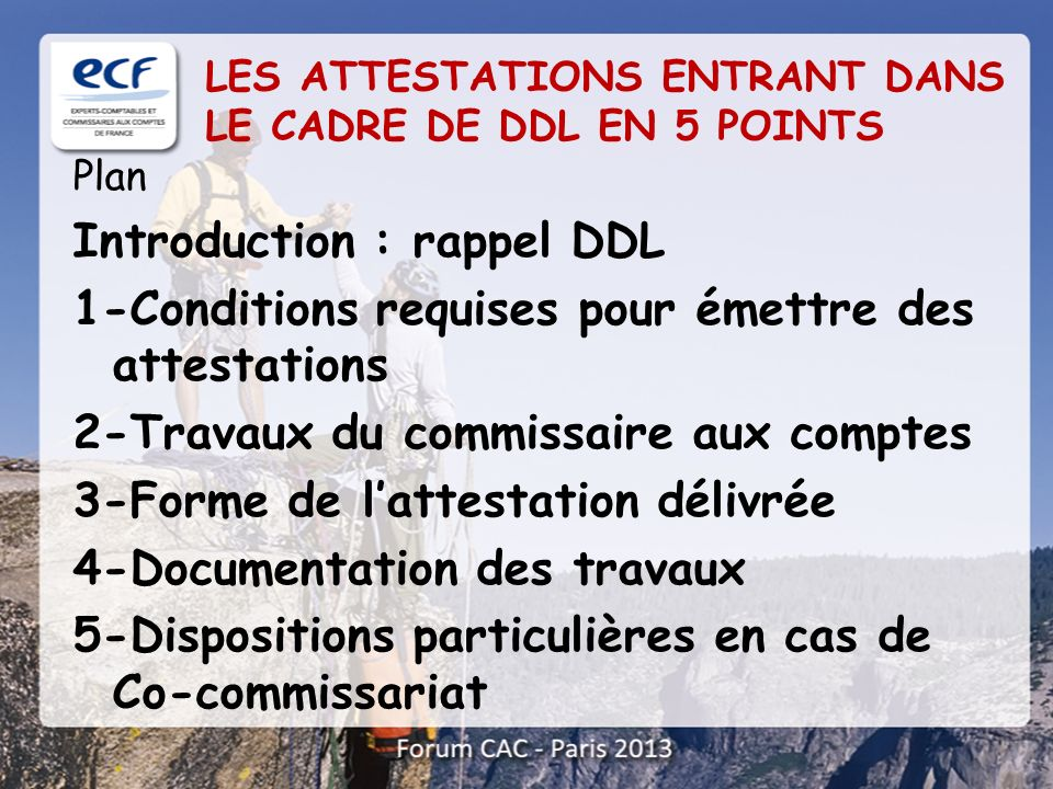 Introduction : rappel DDL