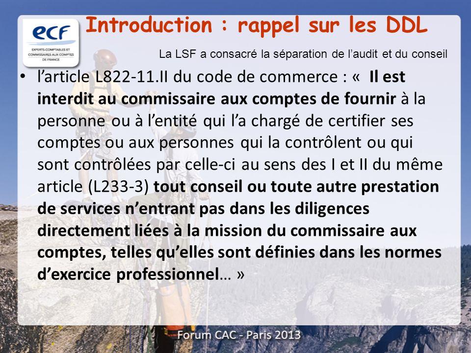 Introduction : rappel sur les DDL
