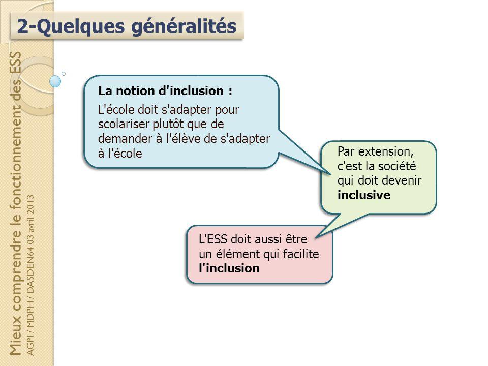 2-Quelques généralités
