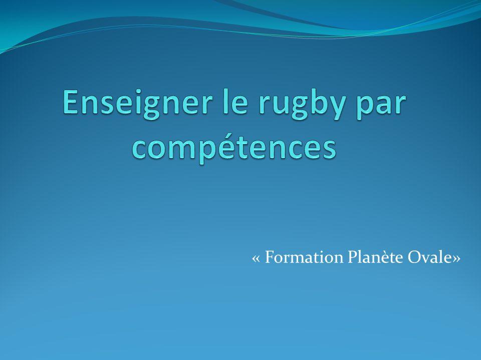 Enseigner le rugby par compétences