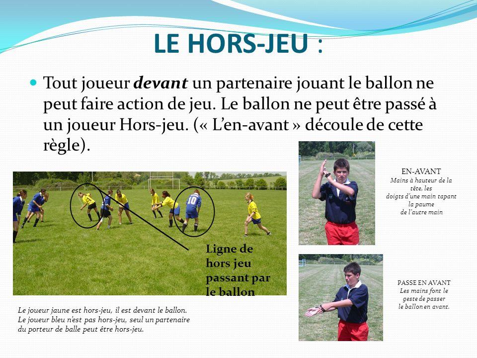 LE HORS-JEU :
