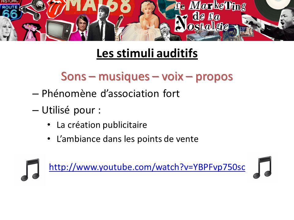 Sons – musiques – voix – propos