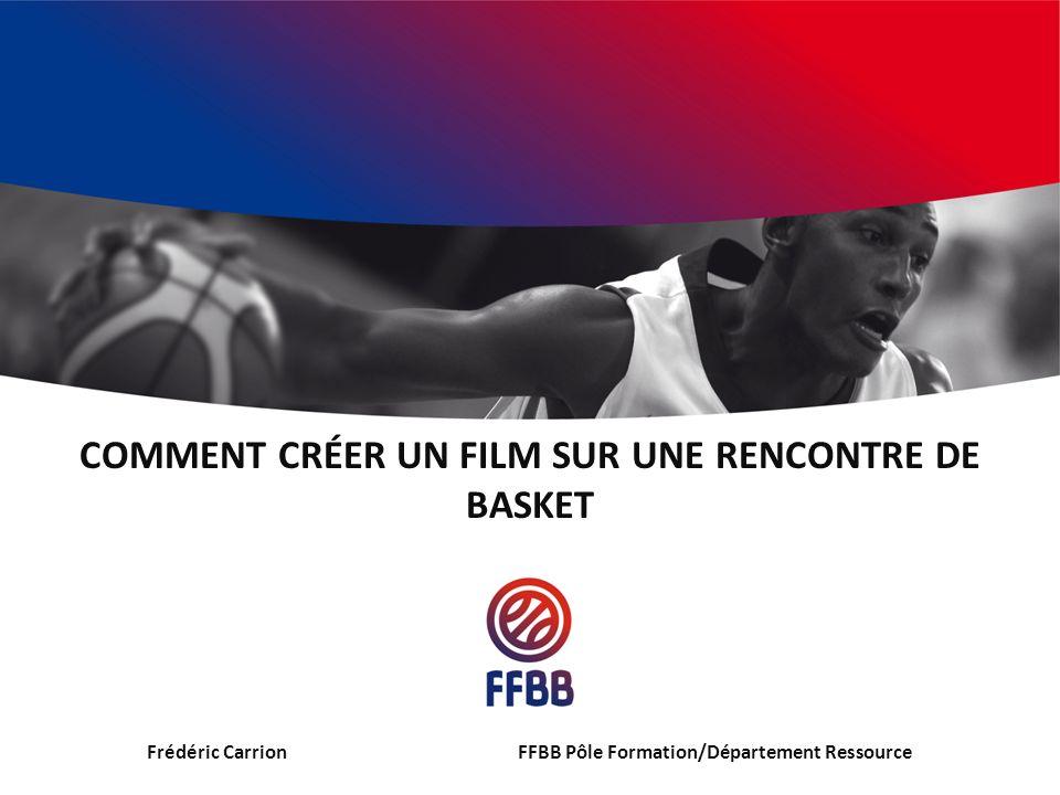 Comment créer un film sur une rencontre de basket