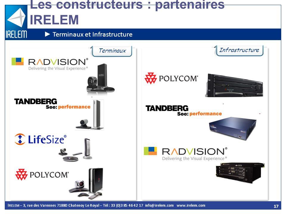 Les constructeurs : partenaires IRELEM