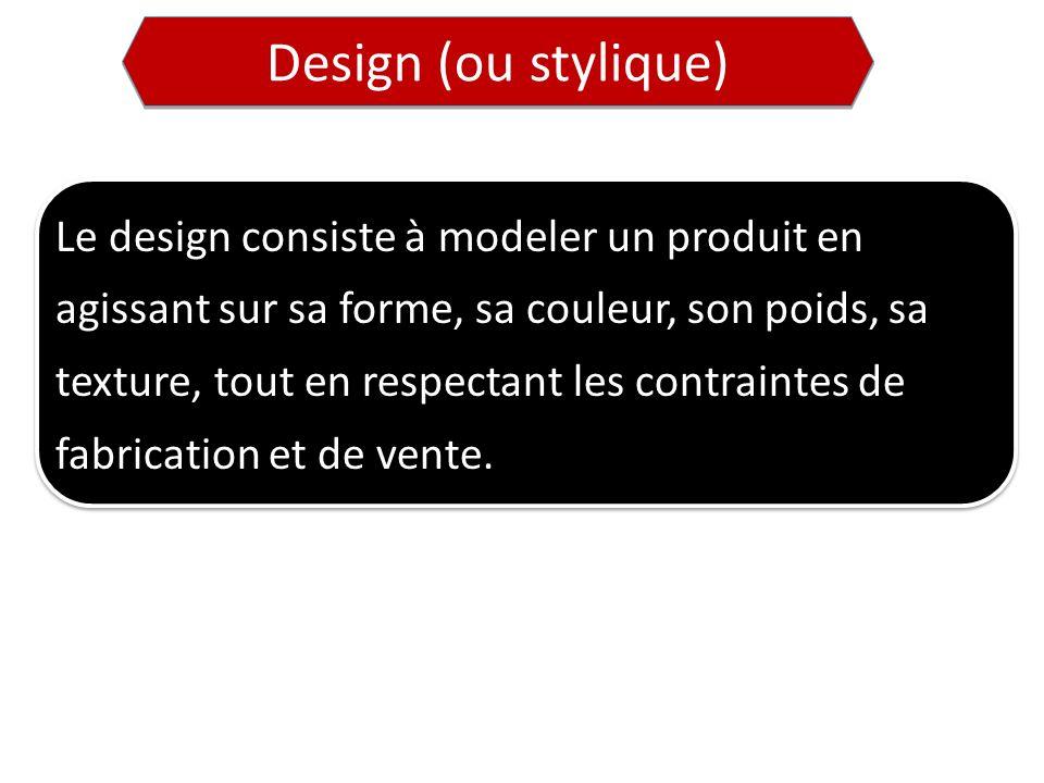 Design (ou stylique)