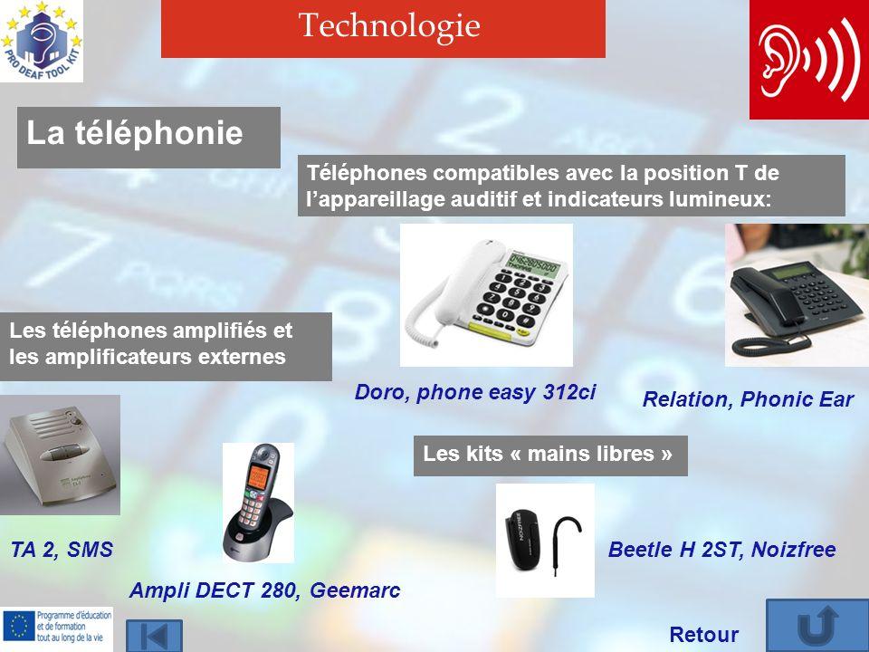 Technologie La téléphonie