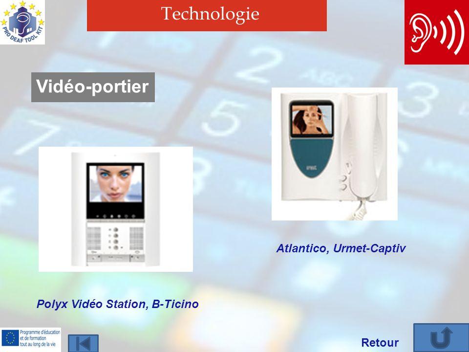 Technologie Vidéo-portier Atlantico, Urmet-Captiv