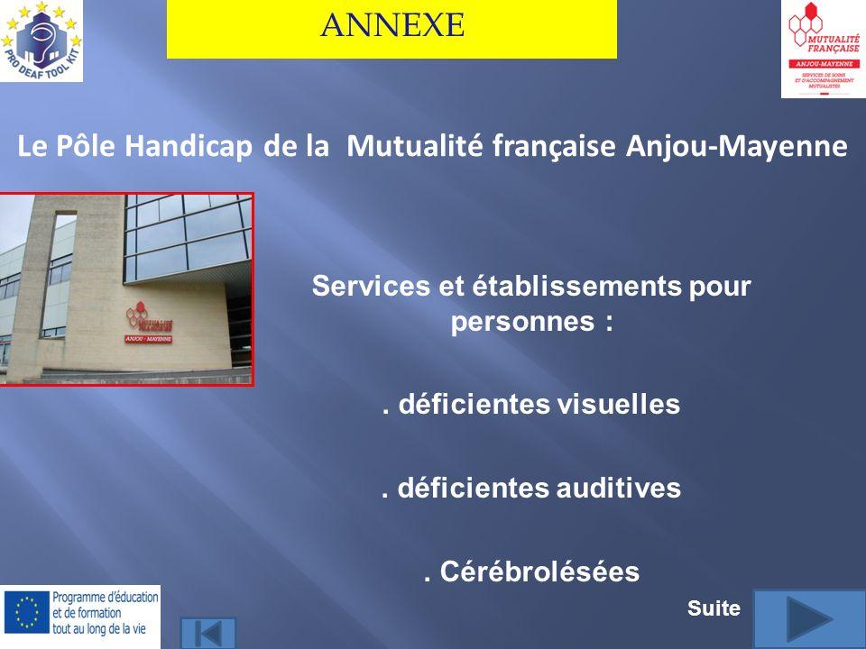 Le Pôle Handicap de la Mutualité française Anjou-Mayenne
