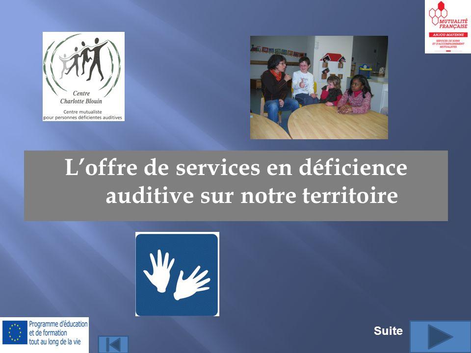 L'offre de services en déficience auditive sur notre territoire