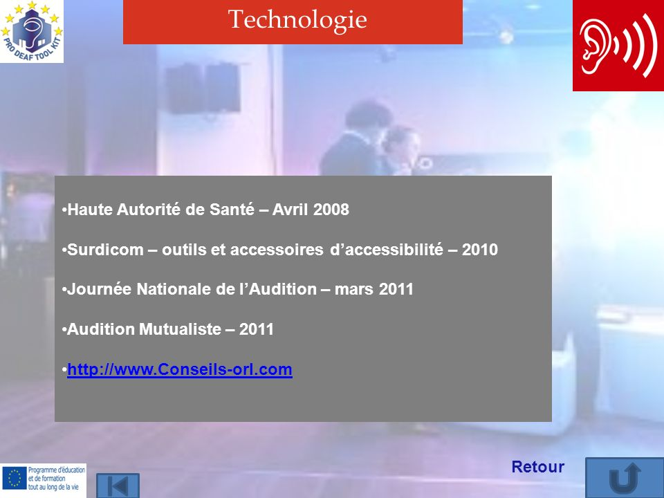 Technologie Haute Autorité de Santé – Avril 2008