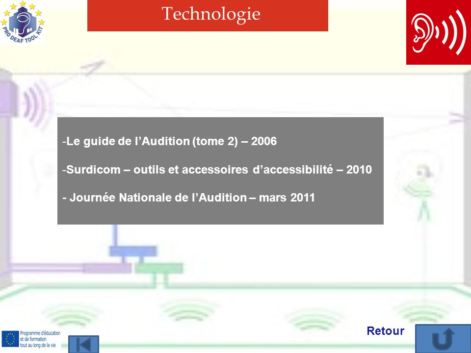 Technologie Le guide de l'Audition (tome 2) – 2006