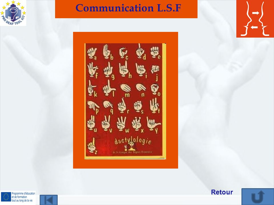 Communication L.S.F Retour