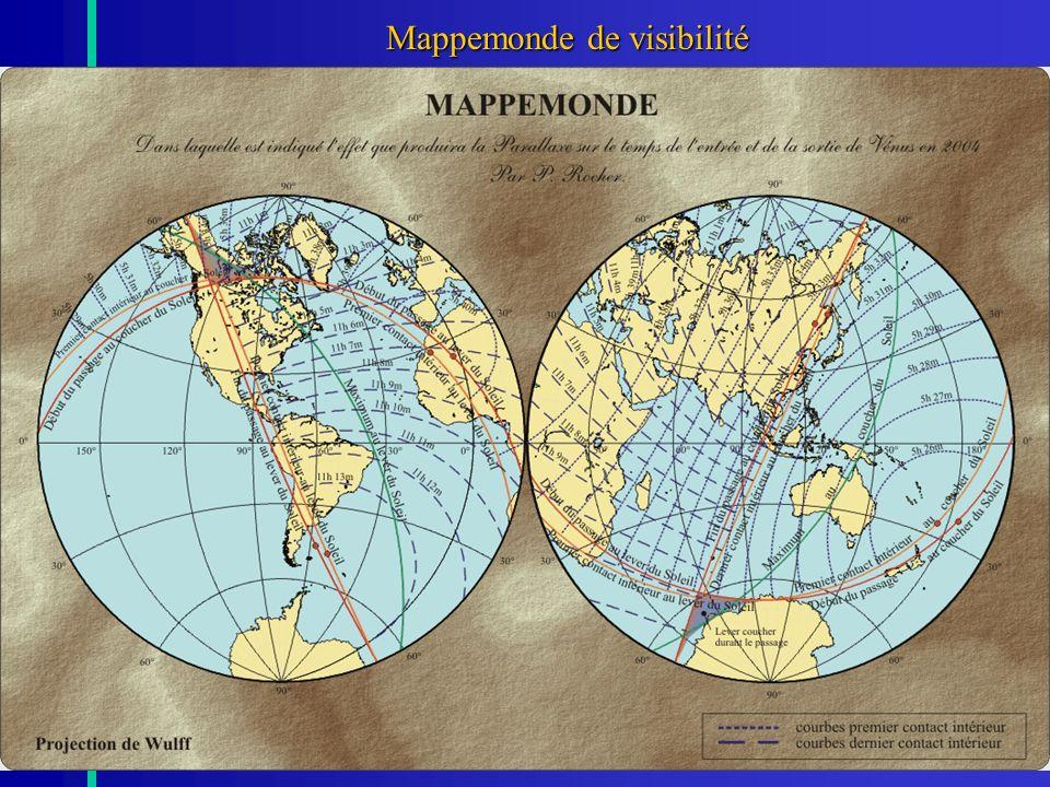 Mappemonde de visibilité