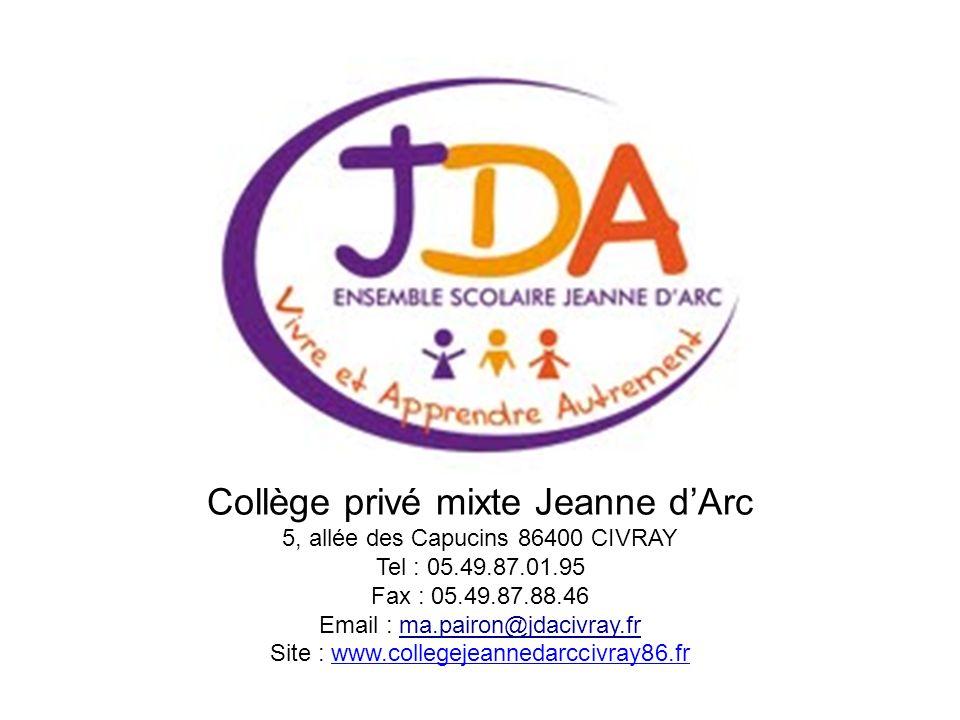 Collège privé mixte Jeanne d'Arc