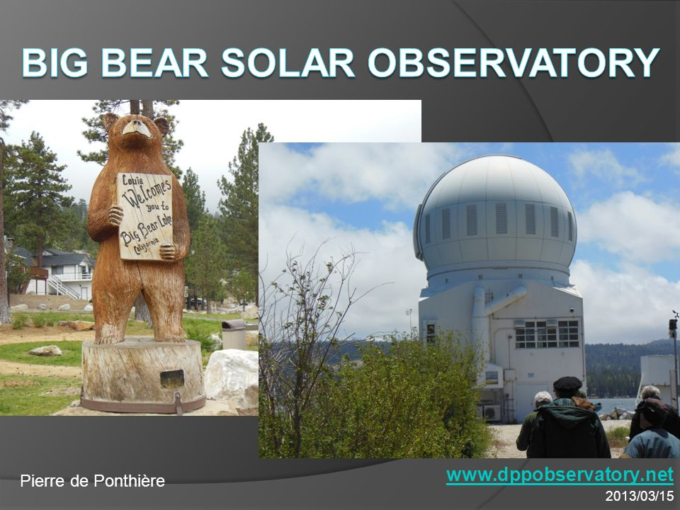 Big Bear Solar Observatory -