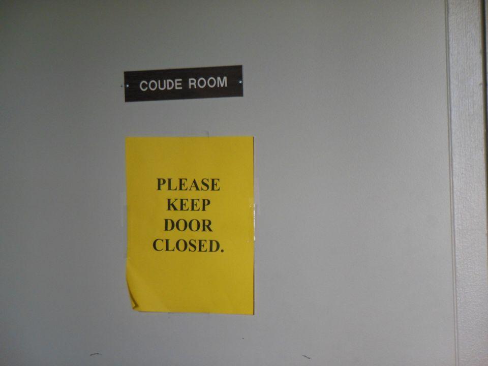 Coudé Lab Salle climatisée