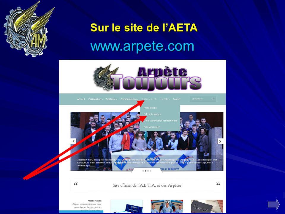 Sur le site de l'AETA www.arpete.com