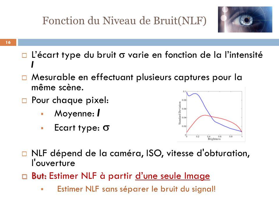 Fonction du Niveau de Bruit(NLF)