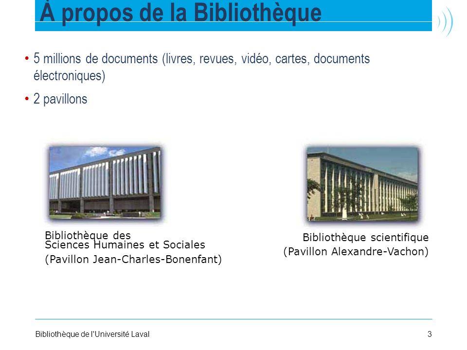 À propos de la Bibliothèque