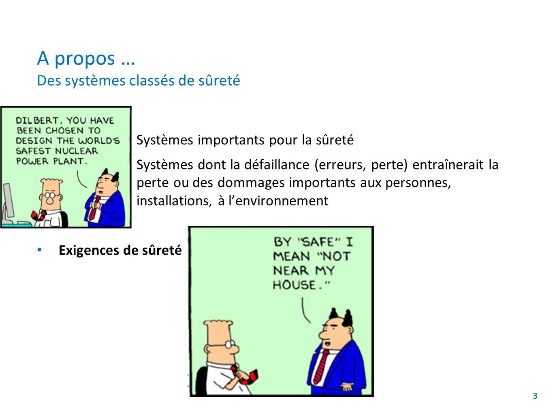 A propos … Des systèmes classés de sûreté