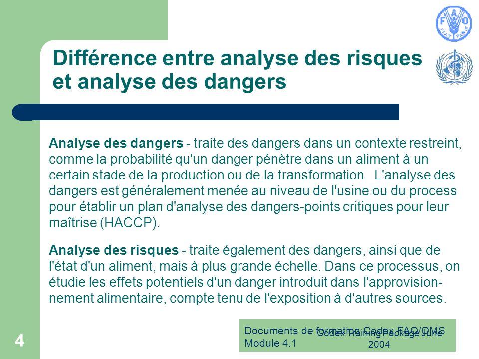 Différence entre analyse des risques et analyse des dangers