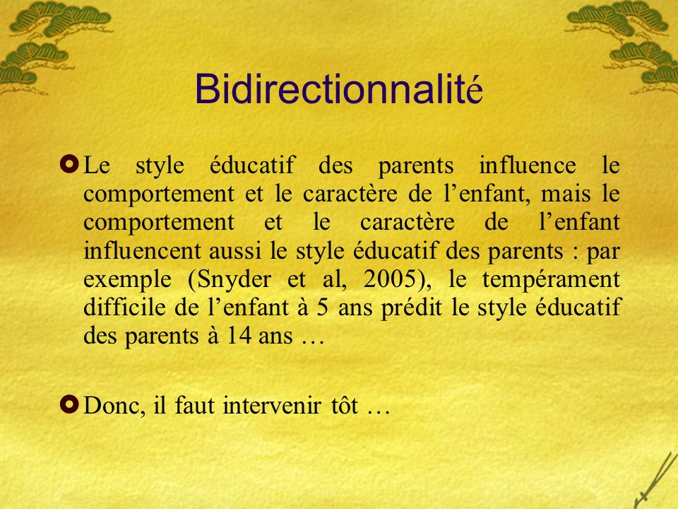 Bidirectionnalité