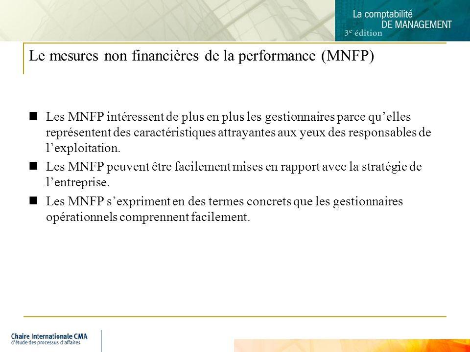 Le mesures non financières de la performance (MNFP)