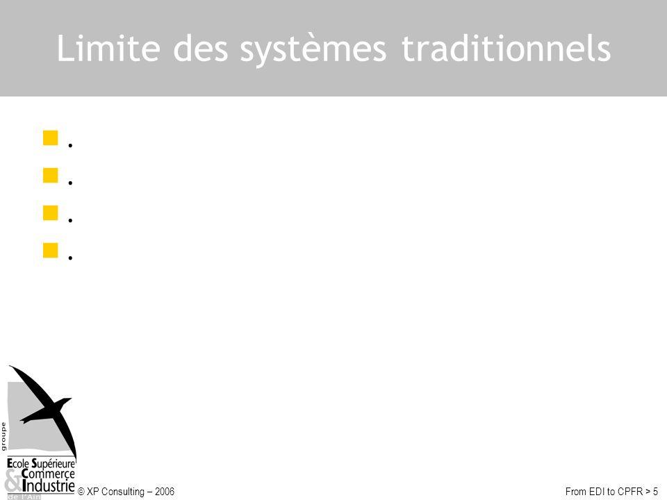 Limite des systèmes traditionnels